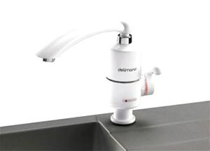 Фото - Проточний водонагрівач Делімано - технічні характеристики і сфера використання