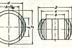 Розкрій колод розвальний поставами (вразвал) на обрізні дошки і визначення їх розмірів