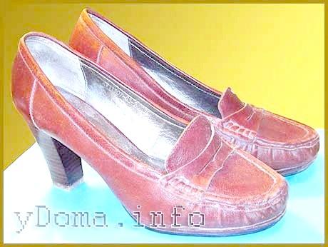Фото - Ремонт взуття - набойка на каблук своїми руками