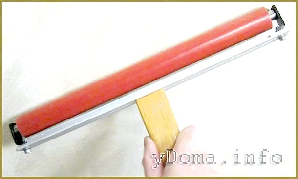 Фото - Гумовий валик для розгладження шпалер