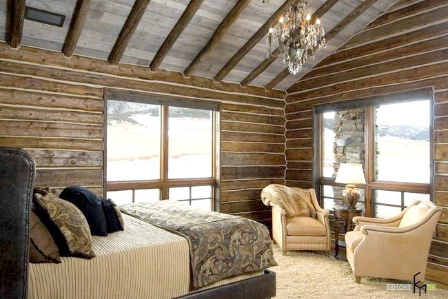Фото - Сміливі рішення для спальні в стилі кантрі