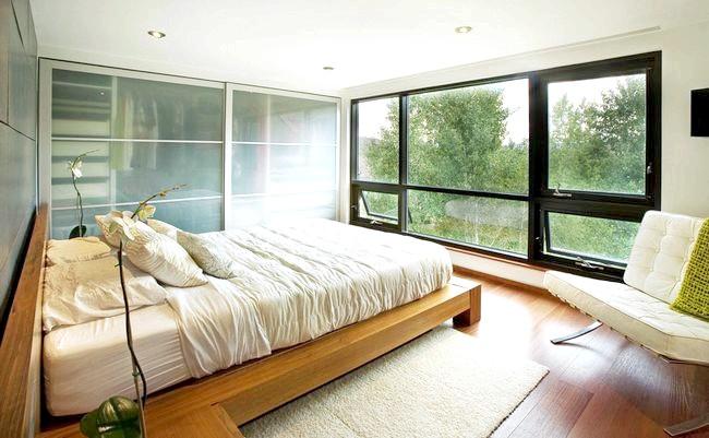 Фото - Сучасна спальня, витримана в стилі модерн