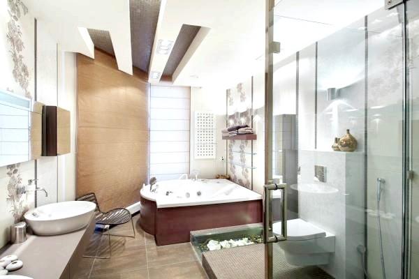 Фото - Сучасна ванна кімната - царство високих технологій на невеликій площі
