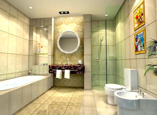 Фото - Сучасні способи обробити стелю у ванній кімнаті