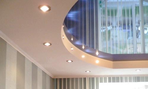 Фото - Створення стелі з гіпсокартону і всі етапи його шпаклювання