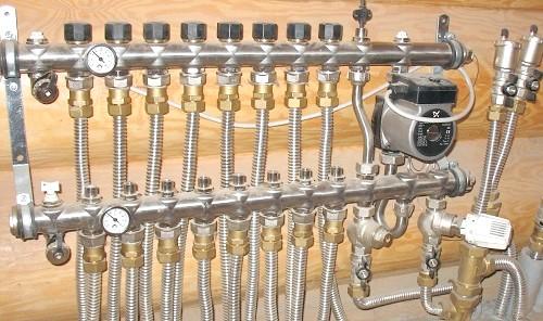 Фото - Специфіка схеми підключення теплої підлоги в приватному будинку