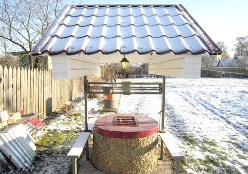 Фото - Способи утеплення колодязя в приватних будинках і на дачах