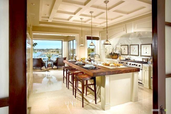 Фото - Середземноморський стиль в інтер'єрі кухні - творчий підхід до практичною обстановці