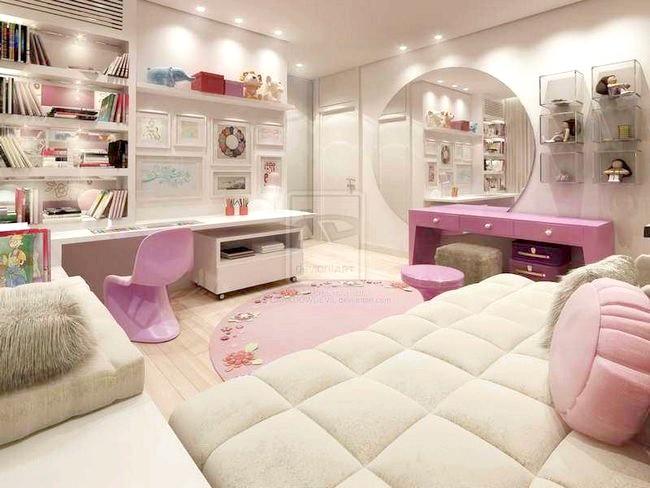 Фото - Оформлення кімнати для коханої дочки