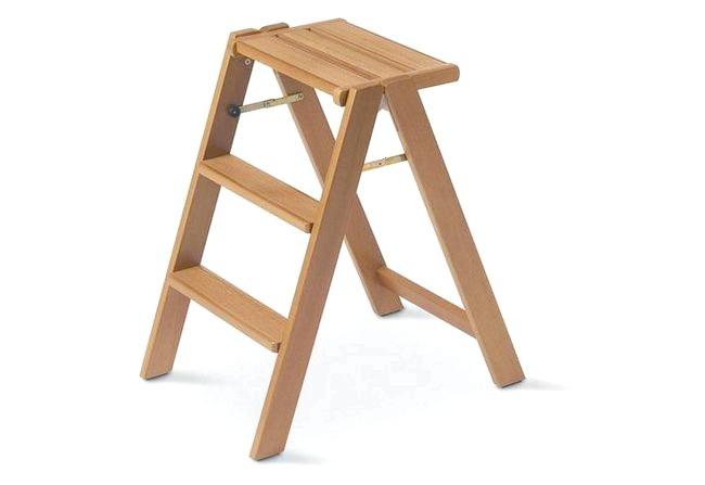 Фото - Табурет з вбудованими ступенями своїми руками