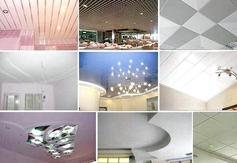 Фото - Технології пристрої різних стель
