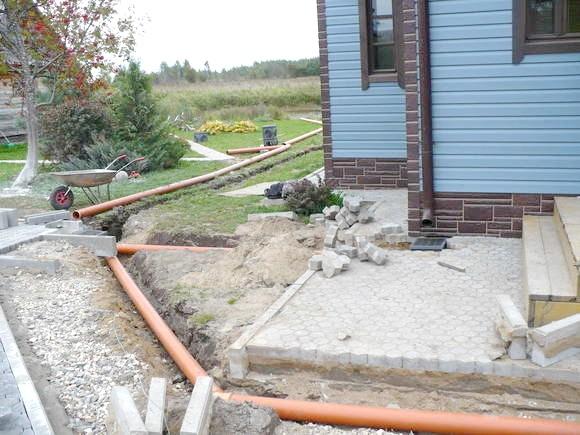Фото - Технологія прокладки зливової каналізації