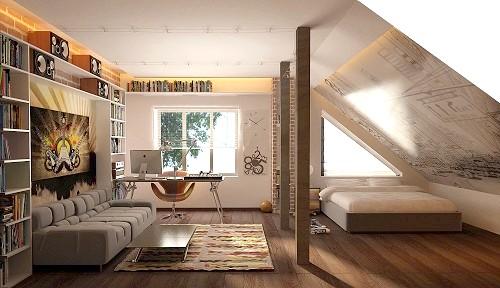 Фото - Тепла мансарда - додаткове приміщення в будинку