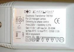 Трансформатор для галогенових ламп