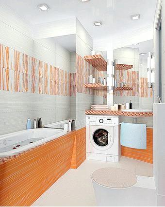 Фото - Ванна кімната в панельному будинку: особливості оздоблення