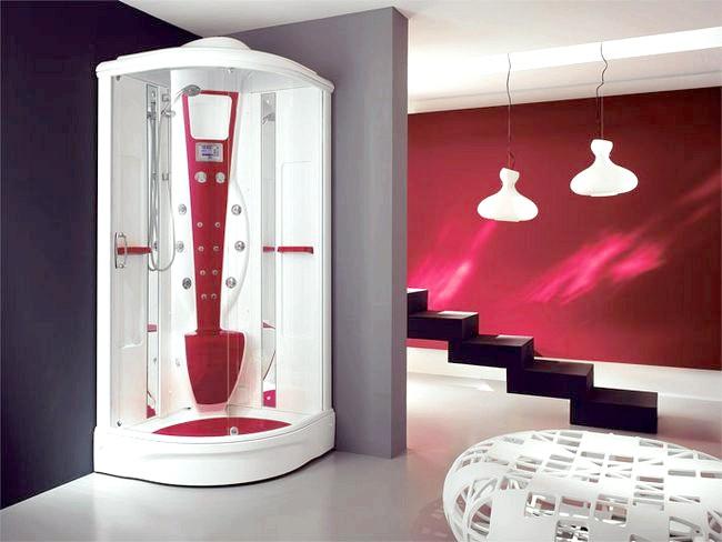 Фото - Ванна кімната в стилі хай тек: особливості оздоблення