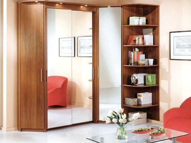 Фото - Кутова меблі для вітальні: фото та опис