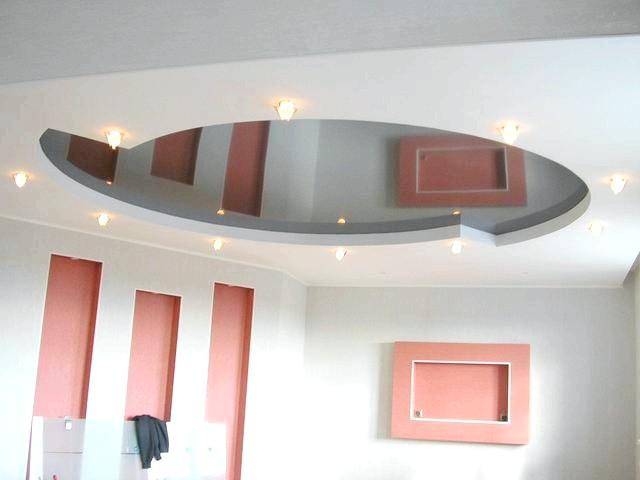 Фото - ВіДі і монтаж конструкцій гіпсокартонних підвісних стель