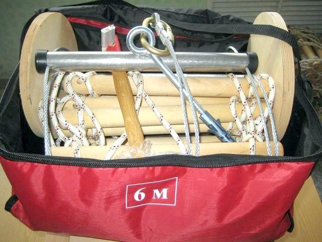 Фото - Види сходів з мотузяною тятивою