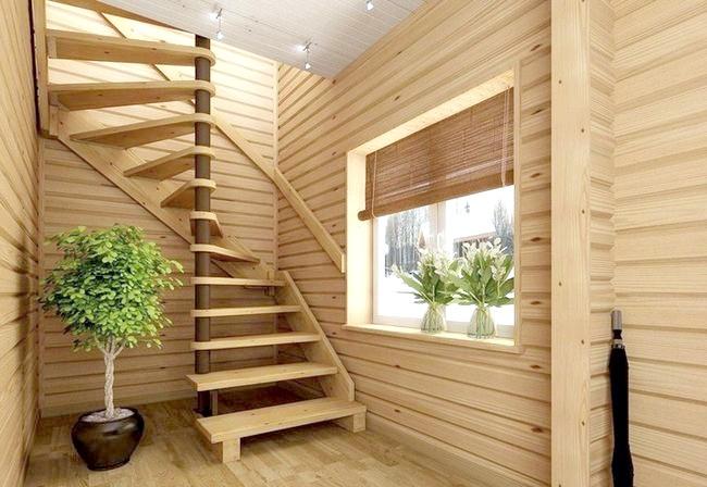 Фото - Монтаж гвинтових сходів: особливості збірки