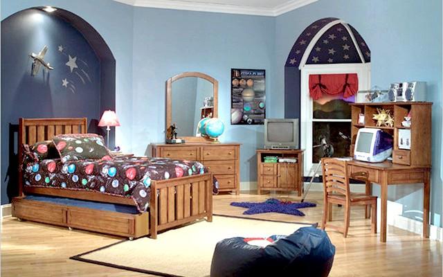 Фото - Фото дизайнерських рішень інтер'єру дитячої кімнати для хлопчика