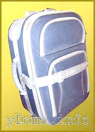 Фото - Як вібрато валізу, ремонт ручок, коліщаток и ніжок