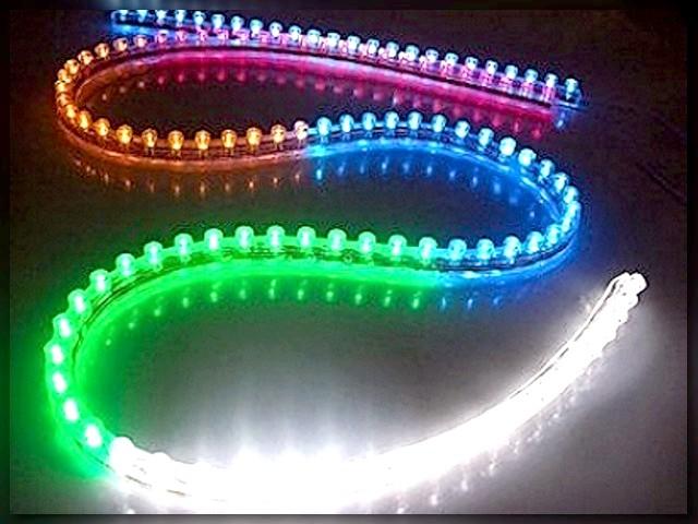 Фото - Монтаж освітлення з використанням світлодіодної стрічки