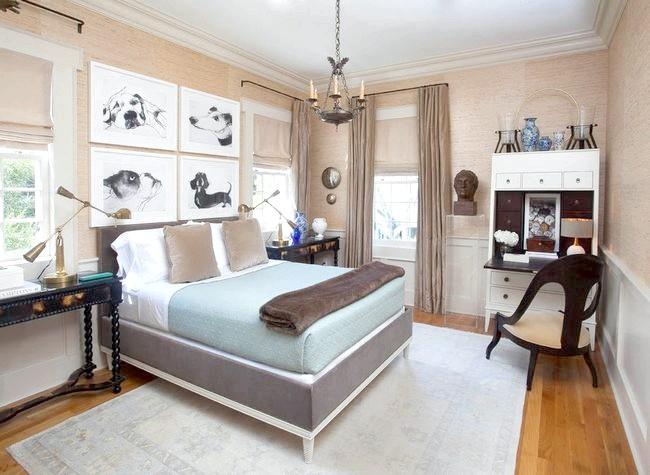 Красивий інтер'єр спальні