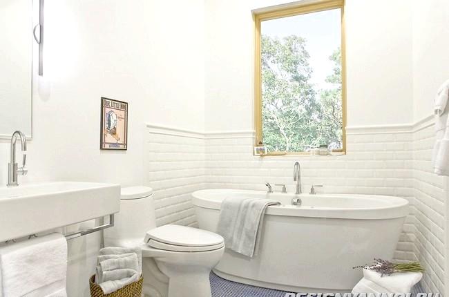 Фото - Шість правил дизайну інтер'єру маленької ванної кімнати