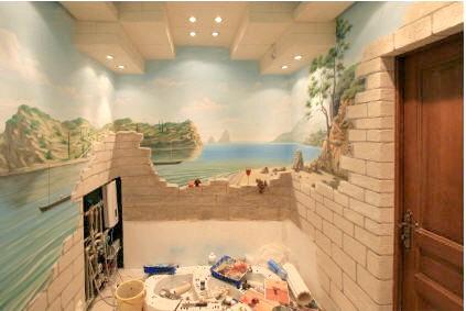 Фото - Стіни у ванній кімнаті: вибір оздоблювального матеріалу