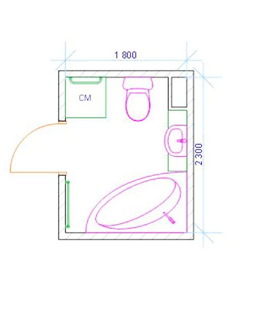 Фото - Кутові ванни: розміри основних моделей
