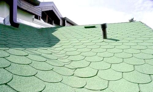 Фото - Пристрій даху з бітумної черепиці