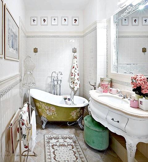 Фото - Ванна в стилі прованс: південь франції у вашому будинку