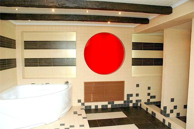 Фото - Ванна в східному стилі - оригінальне рішення