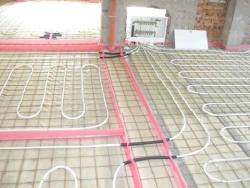 Фото - Водяна підлога під плитку і ламінат