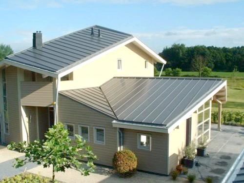 Фото - Чим кращий сталевий матеріал для даху?