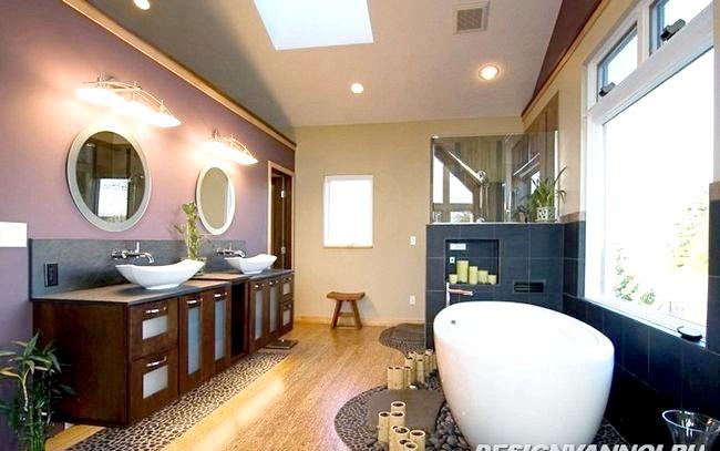 Фото - Дизайн інтер'єру ванної в японському стилі 20 фото