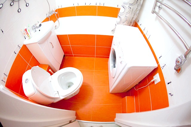 Фото - Грамотний дизайн перетворить і невелику ванну кімнату в хрущовці