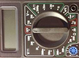 Фото - Як виміряти мультиметром напругу, струм, опір, перевірити діоди і транзистори