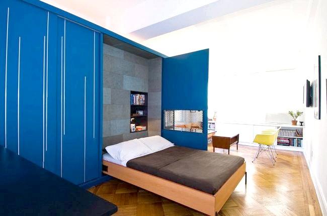 спальня поєднана з вітальнею