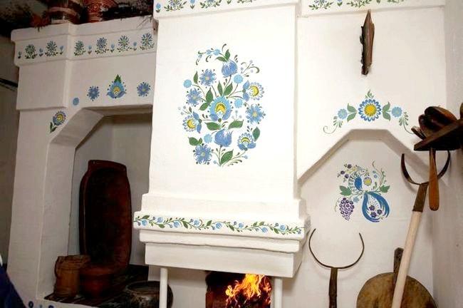Фото - Як прикрасити російську піч у будинку