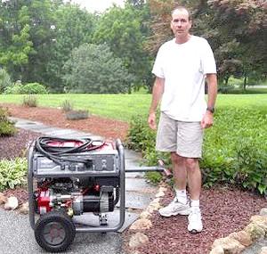 Фото - Як вибрати генератор для дачі: переваги бензинових і дизельних установок