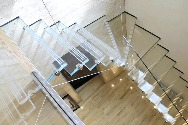 Фото - Сходові конструкції зі скла (триплекса)