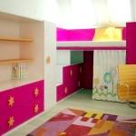 Інтер'єр дитячої кімнати для дівчинки