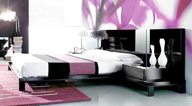 Фото - Оформлення сучасної спальні: фото популярних сполучень квітів