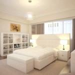 Фото освітлення білої спальні