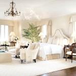 Бежева спальня з меблями венге
