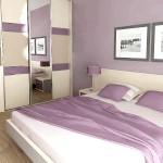 Бузкові стіни для спальні