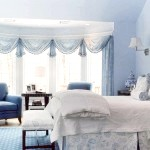 Спальня холодного синього кольору