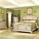 Зелена спальня в стилі вінтаж